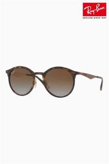 Szylkretowe okulary przeciwsłoneczne z metalowymi zausznikami Ray-Ban®