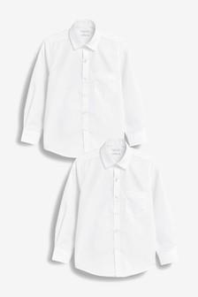 Набор из двух рубашек с длинными рукавами (3-16 лет)