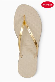 Havaianas® You Metallic Flip Flop