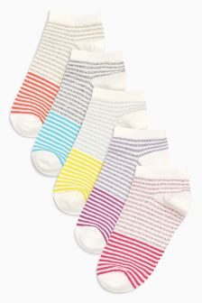 Trainer Socks Five Pack (Older Girls)