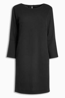 Flute Sleeve Dress