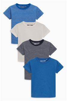 Short Sleeve T-Shirts Four Pack (3mths-6yrs)