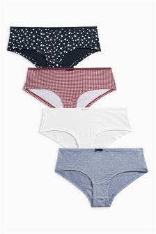 Print Shorts Four Pack