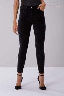 Coast Black Reni Velvet Jean