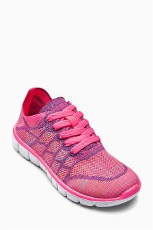Knitted Trainers (Older Girls)