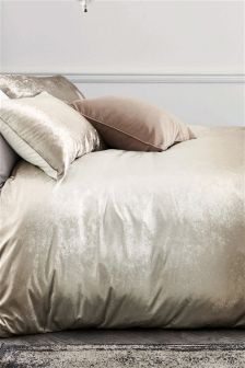 Ombre Velvet Bed Set