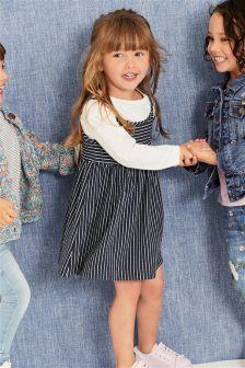 Stripe Dress And Top Set (3mths-6yrs)