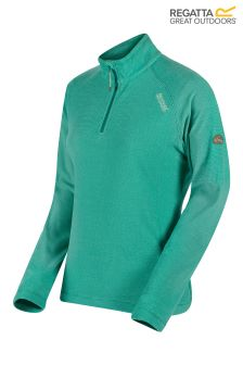 Regatta Blue Half Zip Fleece