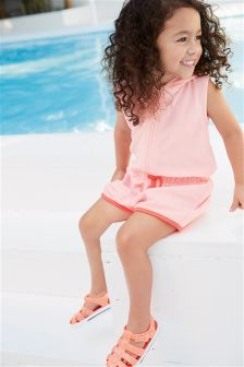 Towelling Playsuit (3mths-6yrs)