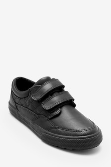 Double Strap Leather Shoes (Older Boys)