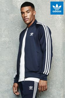 adidas Originals Navy Ink Superstar Track Top