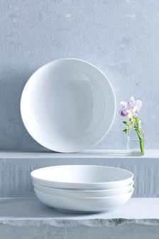 Set Of 4 Studio Pasta Bowls