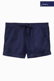 Joules Kat French Navy Linen Short