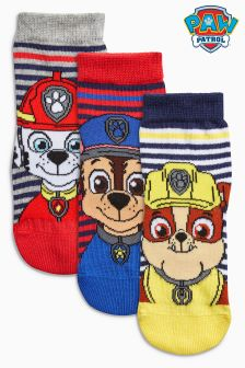 Paw Patrol Socks Three Pack (Younger Boys)