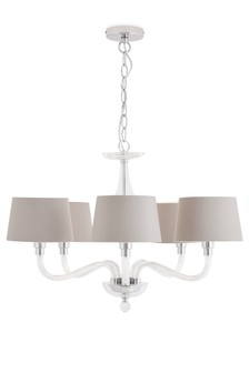 Lighting ceiling lights clear ceilinglights next ireland knightsbridge 5 light fitting mozeypictures Choice Image