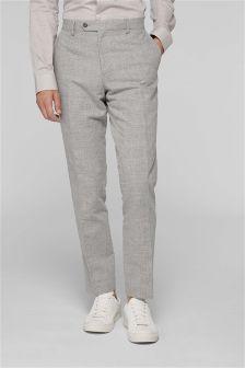 Льняной костюм: брюки