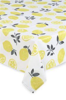 Lemon PVC Tablecloth