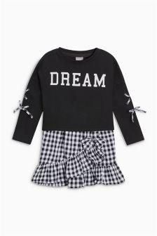 Slogan Sweater And Dress Set (3-16yrs)