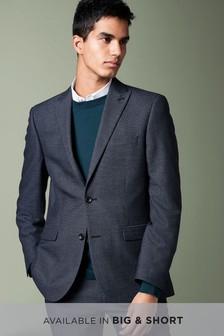 Textured Birdseye Suit