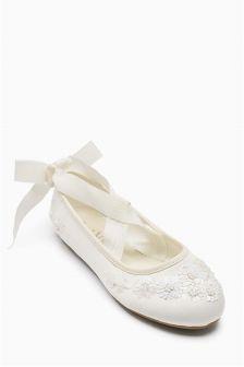 Embellished Ballet Shoes (Older Girls)