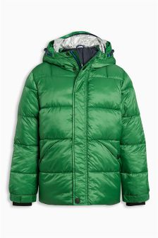 Double Hood Padded Jacket (3-16yrs)