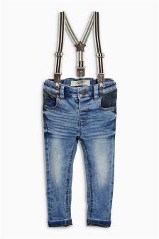 Braced Jeans (3mths-6yrs)