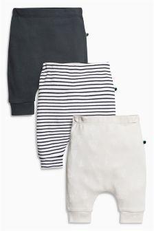 慢跑运动裤三条装 (0个月-2岁)