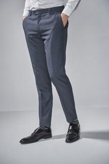 Текстурированный костюм: брюки