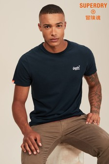 Superdry Navy Logo T-Shirt
