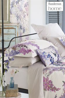 Sanderson Wisteria Falls Oxford Pillowcases