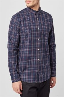 Smart Check Long Sleeve Shirt