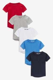 Short Sleeve T-Shirts Five Pack (3mths-6yrs)