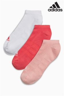 adidas Pink Pack Socks Three Pack
