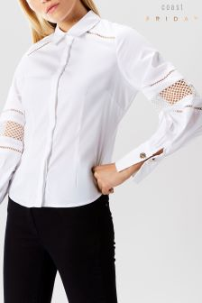 Coast White Lowie Volume Sleeve Shirt