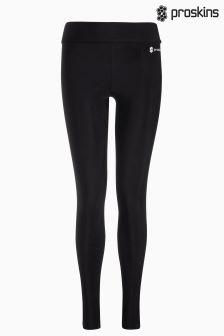 Proskins Gym Black Slim Full Length Legging