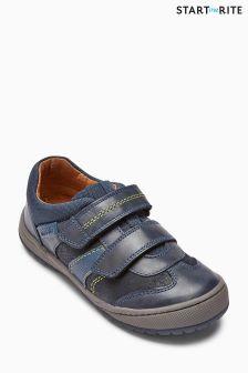 Start-Rite Flexy Tough Pri Blue Shoe
