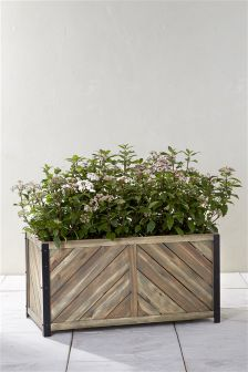 Salvage Effect Trough Planter