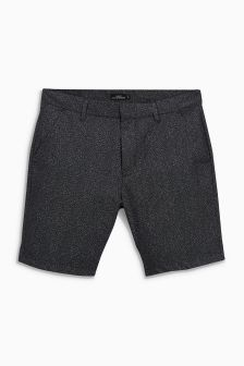 Dot Print Chino Shorts