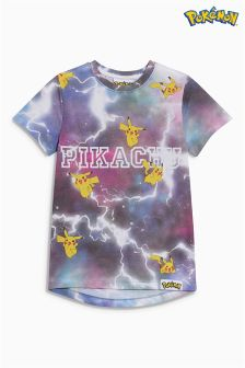 Pikachu All-Over-Print T-Shirt (3-14yrs)