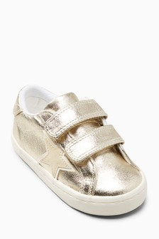 Touch Fastening Star Trainers (Younger Girls)