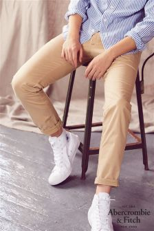 Abercrombie & Fitch Tan Chino Trouser
