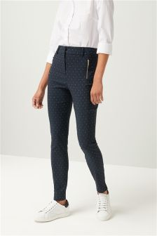 Dot Skinny Trousers