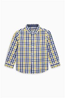 Gingang-overhemd met lange mouwen (3 mnd-6 jr)
