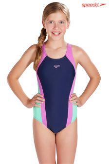 Speedo® Panel Splashback Swimsuit