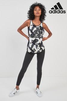 adidas Black Essential Linear Tight