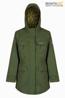 Regatta Cypress Green Waterproof Shell Jacket