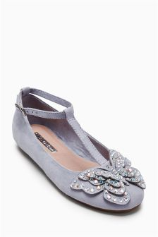 Embellished Butterfly Shoes (Older Girls)