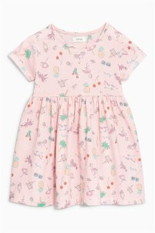 Jersey-Kleid (3 Monate bis 6 Jahre)