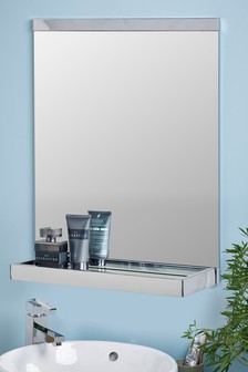 Moderna Chrome Plated Mirror