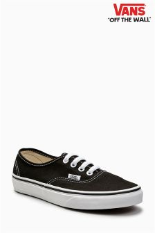 Vans Black/White Authentic